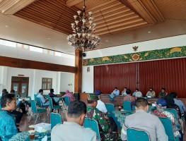 Satgas Penanggulangan Covid-19 Tingkat Desa Caturtunggal Gelar Rapat Koordinasi
