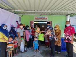 Lurah Caturtunggal Sampaikan Pemberian Makanan Tambahan di Posyandu Dewi Sartika 3 Padukuhan Tambakbayan