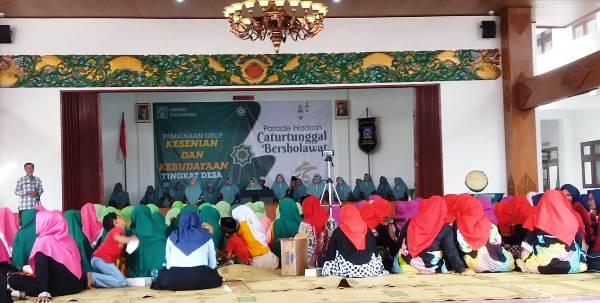 Pemerintah Desa Caturtunggal Gelar Parade Hadrah Bertajuk Caturtunggal Bershalawat 2020